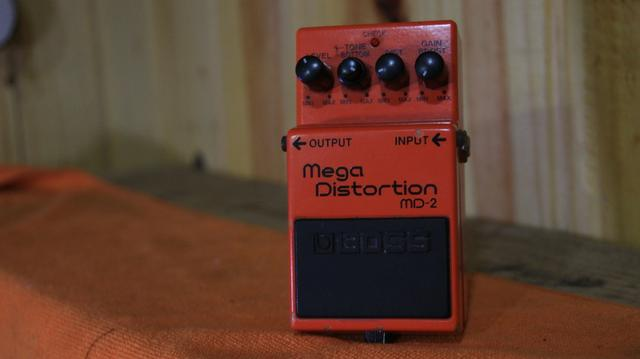 Pedal Mega distortion boss