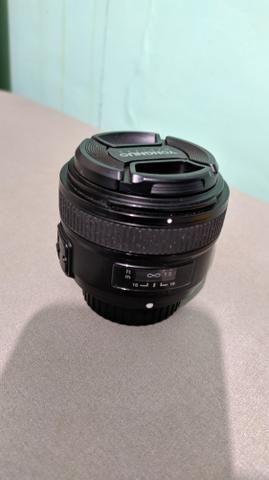 Lente youngnuo 50mm - Nikon