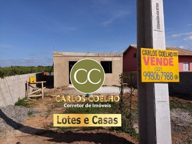 G Cód 237 Ótima Casa em Unamar Cabo Frio ( Construção)