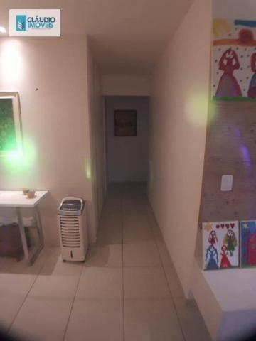 Apartamento com 3 dormitórios à venda, 110 m² por r$ 580.000 - jatiúca - maceió/al - Foto 13