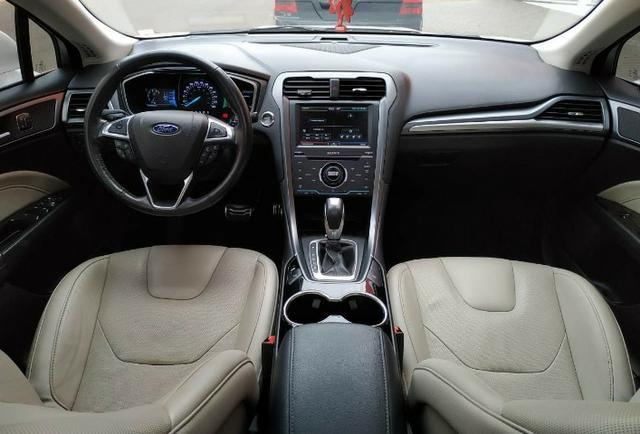 Ford\Fusion 2.0 Titanium 2.0 Turbo GTdi AWD - Top de Linha - Seminovo - Foto 10