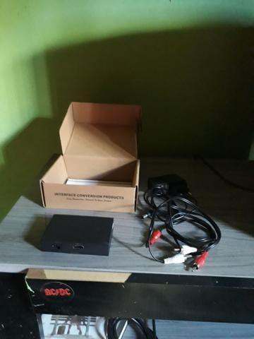 Adaptador VGA pra HDMI de pc