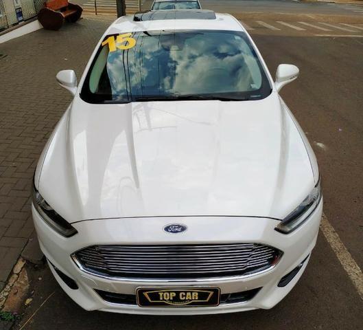 Ford\Fusion 2.0 Titanium 2.0 Turbo GTdi AWD - Top de Linha - Seminovo - Foto 3