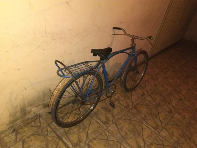 Bicicleta antiga Caloi arco duplo ano 67 pra restaura só quem conhece