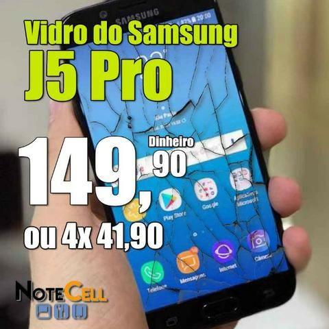 Vidro do Samsung J5 Pro Instalado!