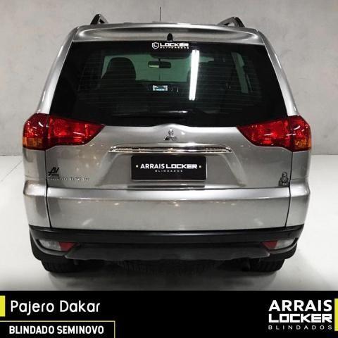 Mitsubishi pajero dakar 2012/2012 3.2 hpe 4x4 7 lugares BLINDADO - Foto 3