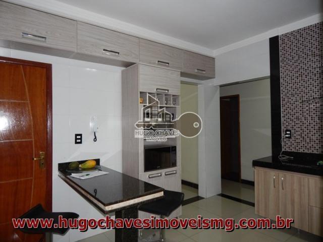 Apartamento à venda com 3 dormitórios em Jardim america, Conselheiro lafaiete cod:242 - Foto 16