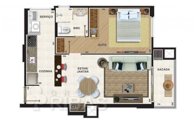 Apartamento residencial à venda, novo mundo, curitiba - ap0329. - Foto 16