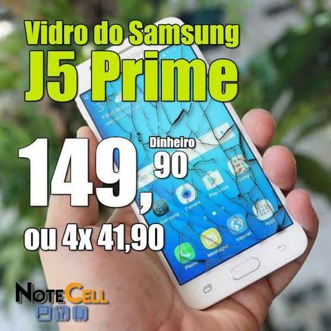 Vidro do Samsung J5 Prime Instalado!