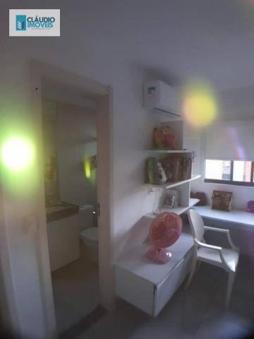 Apartamento com 3 dormitórios à venda, 110 m² por r$ 580.000 - jatiúca - maceió/al - Foto 9