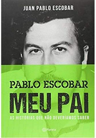 Vendo livro Pablo Escobar Meu Pai