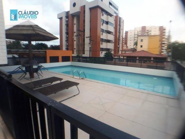 Apartamento com 3 dormitórios à venda, 110 m² por r$ 580.000 - jatiúca - maceió/al - Foto 2