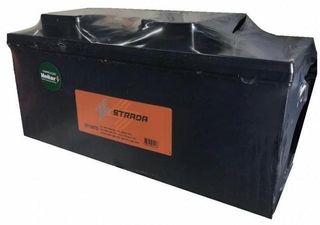 Baterias Strada Fabricação 150ah Heliar para caminhão ônibus utilitário nova  Delivery - Foto 2