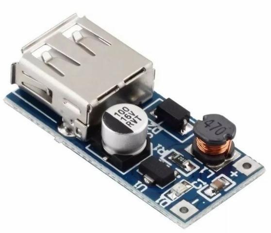 COD-AM187 Conversor Usb Dc 5v Step Up 0.9v A 5v 600ma Arduino Automação Robotica