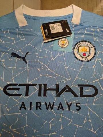 Camisa Manchester city 2020/2021 - Foto 3