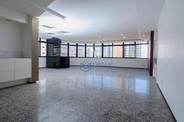 Apartamento com 3 dormitórios à venda, 223 m² por R$ 890.000 - Aldeota - Fortaleza/CE - Foto 4