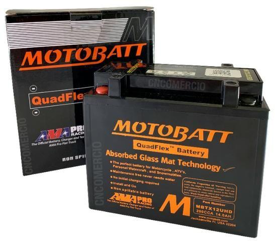 Bateria Motobatt Hd Sportster 883/1200 Bmw R1200 Gs 05-12 Hayabusa 1300 Mbtx12u Ytx14hbs - Foto 8
