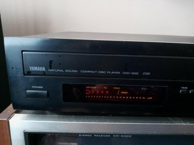 CD player Yamaha CDC625 Top de Linha - Foto 2