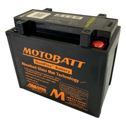 Bateria Motobatt Hd Sportster 883/1200 Bmw R1200 Gs 05-12 Hayabusa 1300 Mbtx12u Ytx14hbs - Foto 3