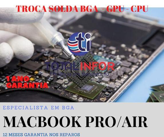 Problemas seu Notebook? Acer Asus Dell Lenovo Hp Apple - Serv 6 Meses Garantia - Foto 6
