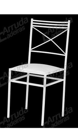 Promoção 100 cadeiras de ferro empilháveis para buffet restaurante branca