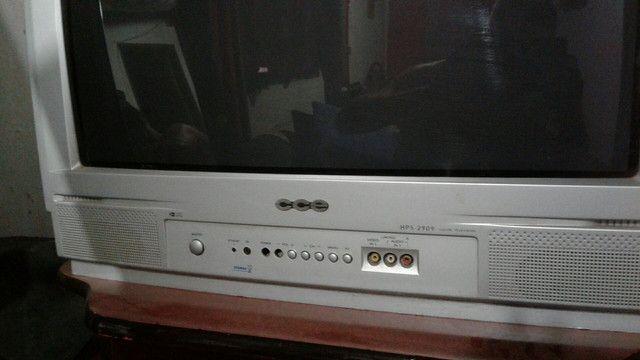 TV 29 + DVD sony mais rack grátis    - Foto 2