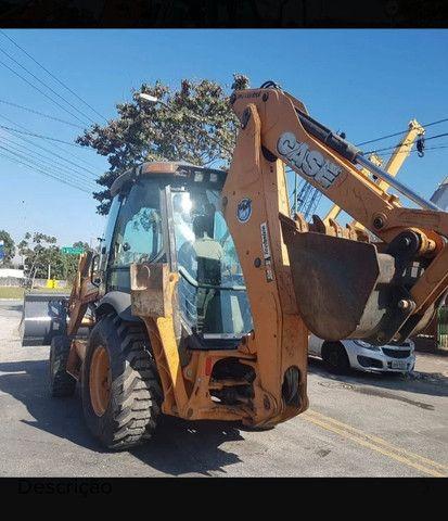 Retro Escavadeira Case 580n 4x4 - Foto 2
