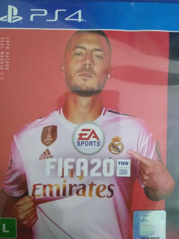 Jogos PS4 FIFA usados.