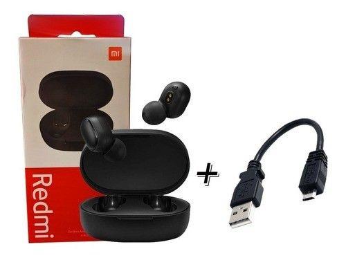 Redmi Airdots 2 Original + cabo usb extra - fone de ouvido sem fio bluetooth - Foto 2