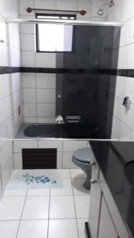 Apartamento para venda 03 dormitórios em Santa Maria com hidromassagem sacadas com churras - Foto 8
