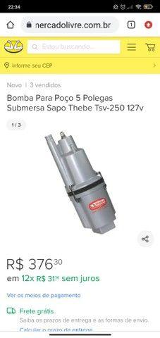 Bomba Sapo 127V TSV 250 - Foto 6