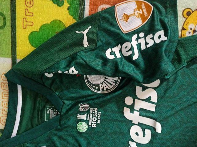 Camisa Palmeiras Final Libertadores - M. - Foto 3