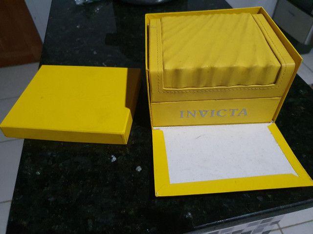 Relógio invicta banhado a ouro 24k Relógio original  - Foto 3