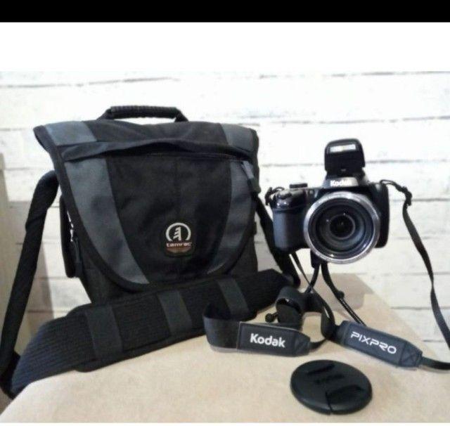 Câmera Digital Semi Profissional PIXPRO AZ501 Kodak