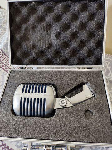 Microfone Shure Super 55 ORIGINAL C/Case. Estudo trocas!