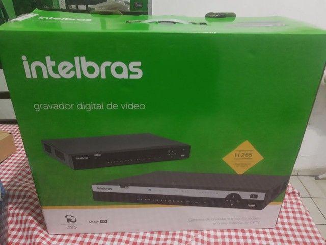 DVR Intelbras 32 canais com HD de 1tera mais câmera ELSYS - Foto 2