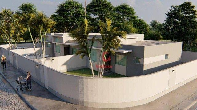 Casa Linear com 3 Quartos Sendo 1 Suíte à venda, 80 m² por R$ 280.000 - Enseada das Gaivot - Foto 12