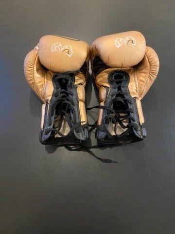 Luva de boxe/ Muay Thai Rival - Foto 4