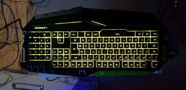 Teclado gamer Warrior TC199 Multilaser  - Foto 5