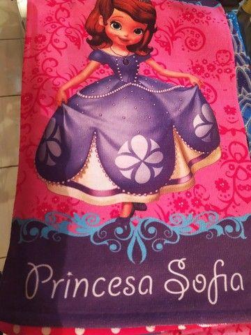 Toalha de rosto infantil femenino personagens Novas  - Foto 2