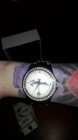 Relógio da Just Cavalli Zircônias Prata Original - Foto 3
