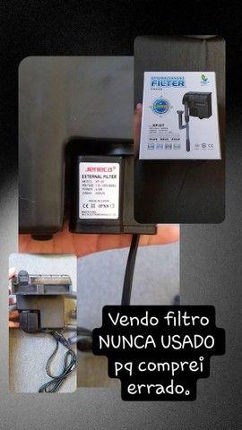 Vendo filtro 500l/h JENECA nunca usado