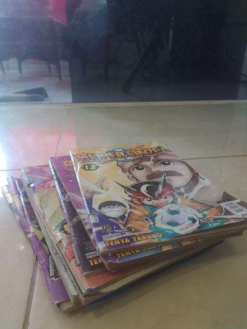 Coleção Inazuma Eleven (Super Onze) - 9 volumes