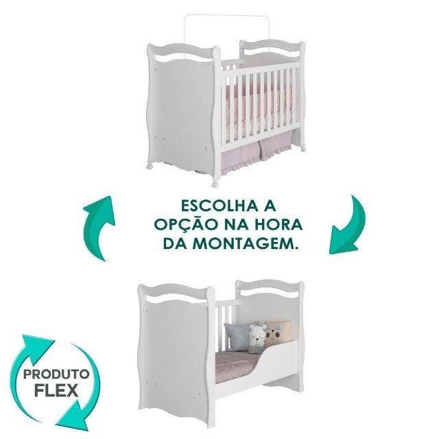 Quarto Infantil Alegria com Berço Cama Americano Sonho ( Promoção ) - Foto 3