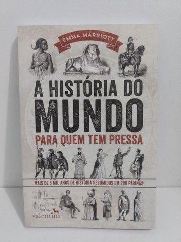 Livro A História do Mundo Para Quem Tem Pressa