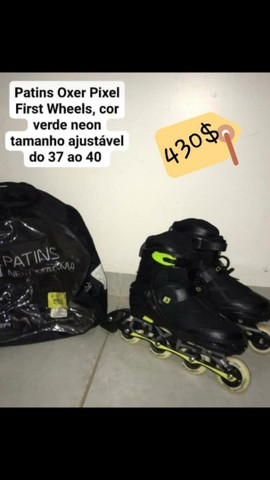Patins oxer pixel first wheels , *