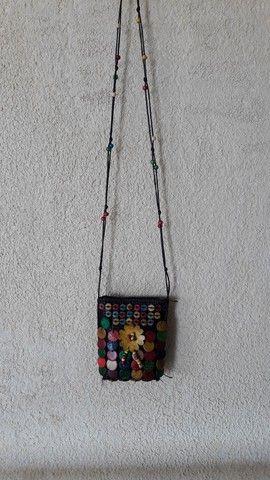 Bolsinha artesanal  - Foto 6