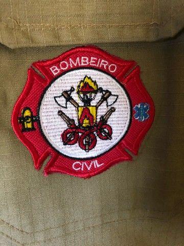 Kit roupa Bombeiro Civil - Foto 5