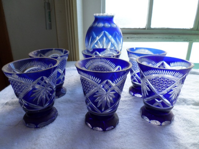 Copos azuis antigos - Foto 5