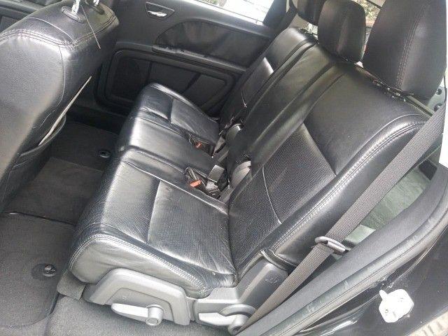 Dodge Journey 2010 Se 2.7 v6 aut/tip+toplinha+couro+cdmp3+revisada+novíssima!!! - Foto 9